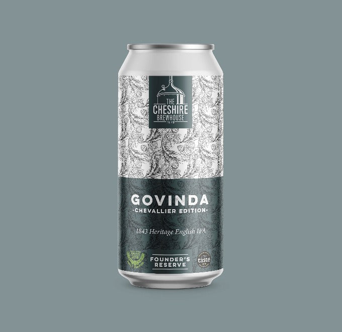 Govinda Chevallier Edition 440ml Can 6.8% - The Cheshire Brewhouse
