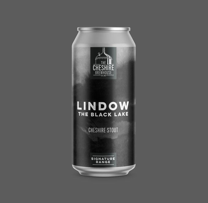 Lindow Cheshire Stout 4.5% 440ml Can