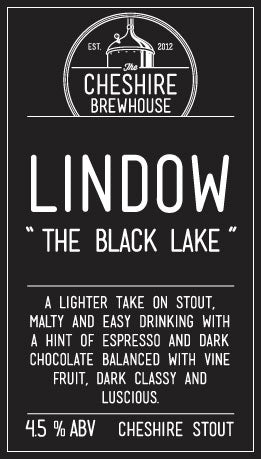 10l Bag in Box Lindow: The Black Lake, Cheshire Stout ABV 4.5% **Local Delivery Day is a Thursday - orders need to be received by 10am**