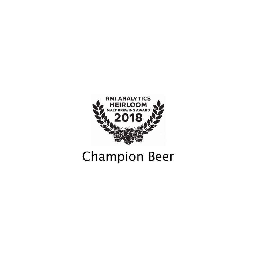 Govinda Chevallier Edition - RMI Analytics Heirloom Awards - Champion Beer