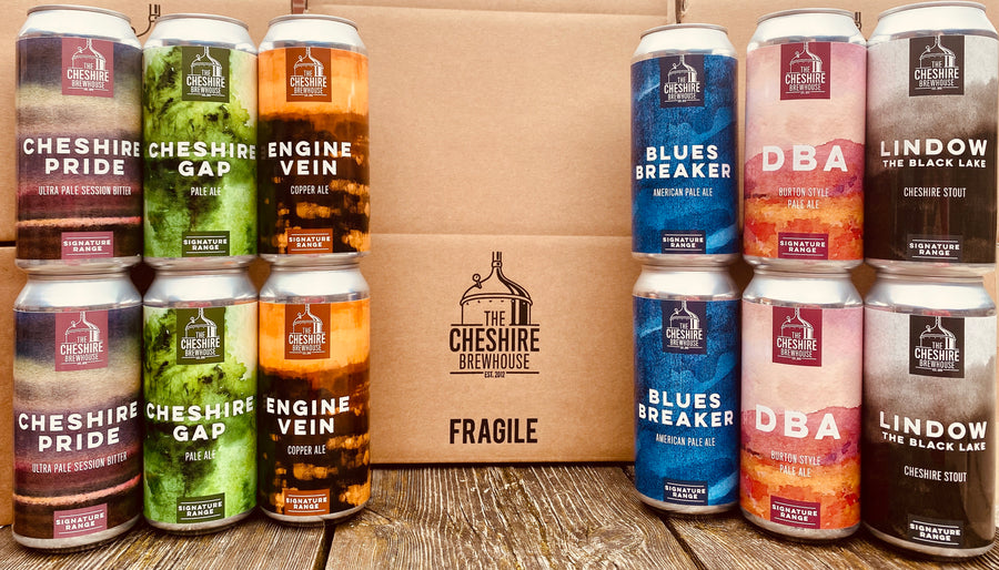 Signature Range 12 packs The Cheshire Brewhouse