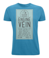The Cheshire Brewhouse Men's T-Shirt Engine Vein t clip Logo White Final
