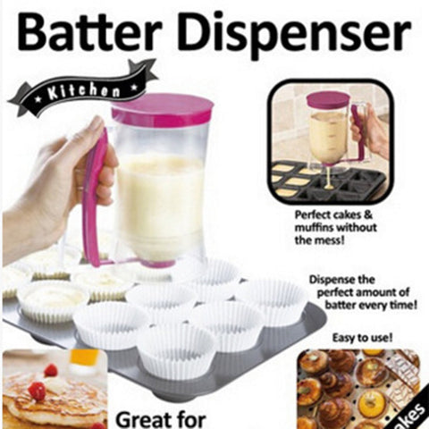 Pancake Cupcake Batter Dispenser Tool