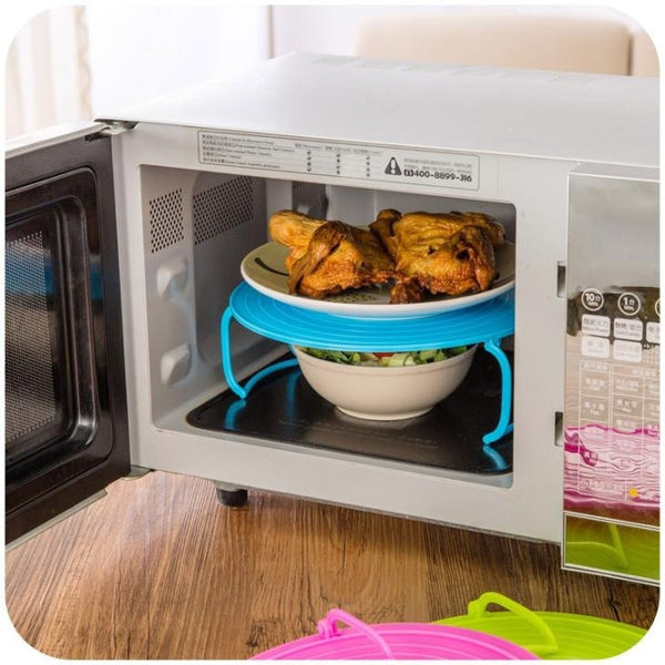 Multifunction Microwave Steaming Rack for Dish