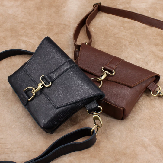Leather Fanny Pack, Waist Bag