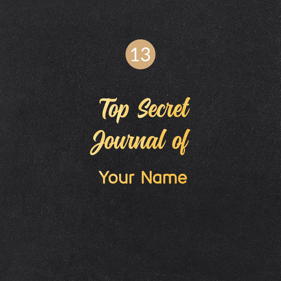 13 Top Secret Journal of Symbol - Image Symbol Embossing Upgrade