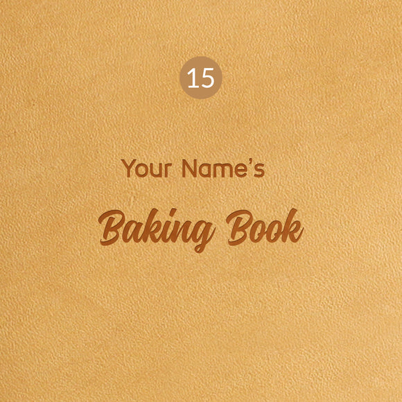 15 Baking Book Symbol - Image Symbol Embossing Upgrade
