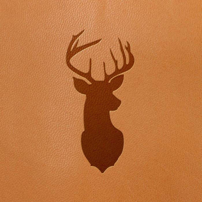 Deer / Stag Symbol-  Fire Branded Images