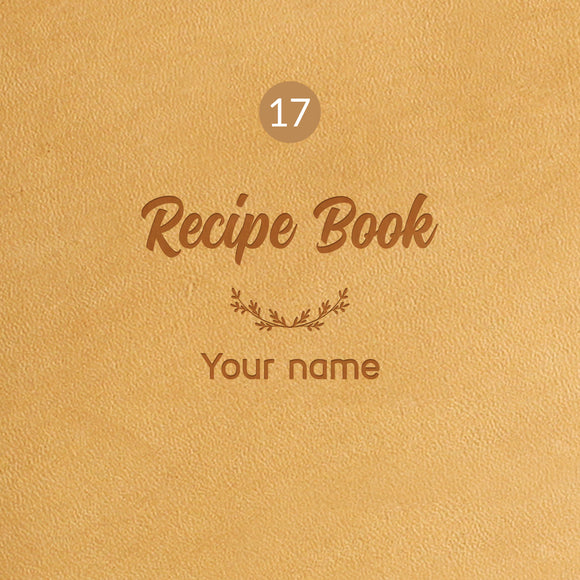 17 Recipe Book Symbol - Image Symbol Embossing Upgrade
