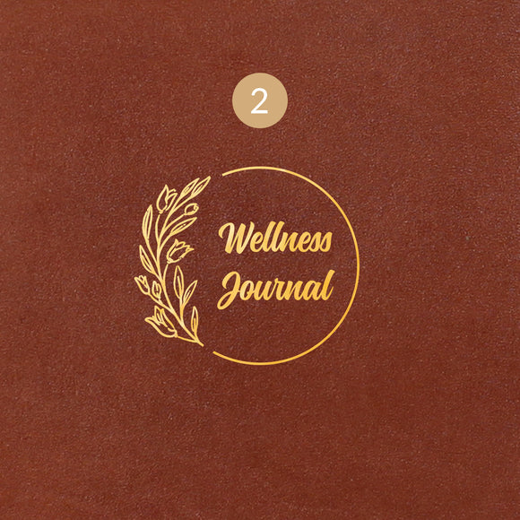 2 Wellness Journal Symbol - Image Symbol Embossing Upgrade