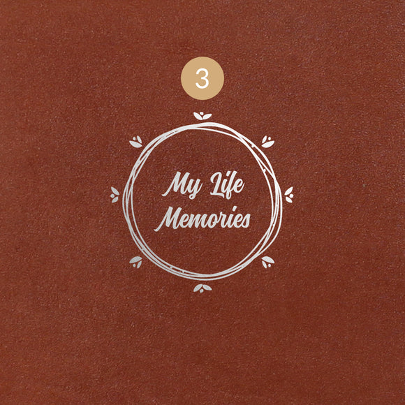 3 My Life Memories Symbol - Image Symbol Embossing Upgrade