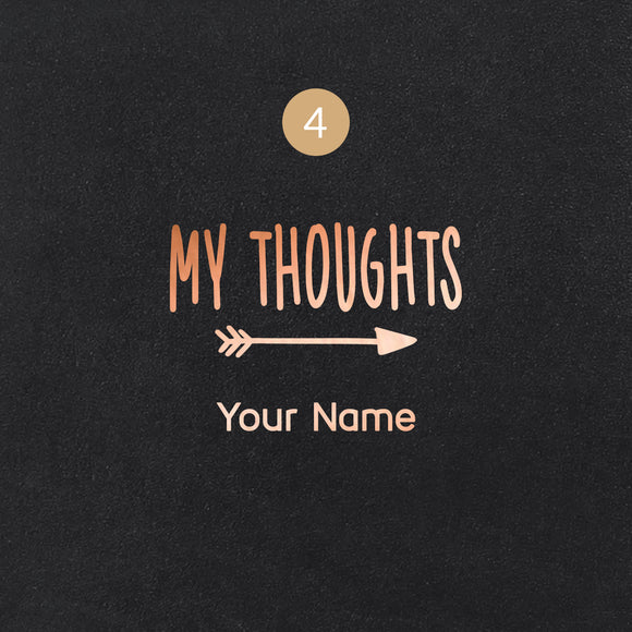 4 My Thoughts Symbol - Image Symbol Embossing Upgrade