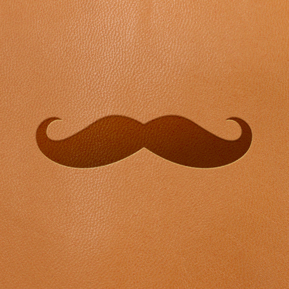 Moustache Symbol- Fire Branded Images
