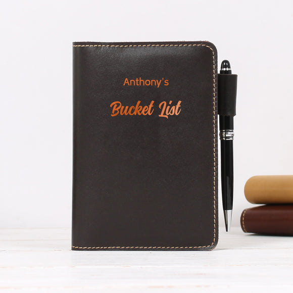 Personalised Journal A6 Hobonichi Travelers Notebook