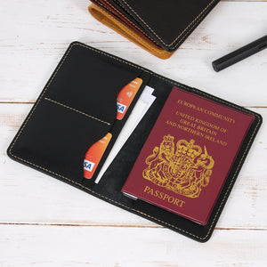 Personalised Passport Holder with Card Holders