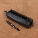 Minimal Leather Pencil Case