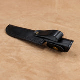 Leather Hunting Knife Sheath - Large