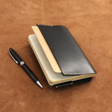 Refillable Leather Journal with Pen Loop