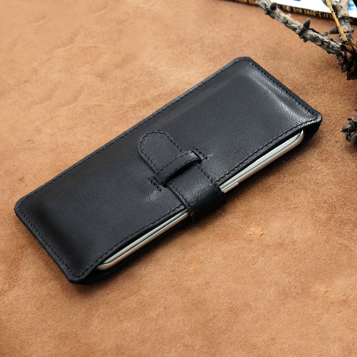 Soft Leather IPhone 7 Sleeve