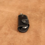 Leather Key Holder with Snap Button