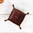 Leather Catch all Tray