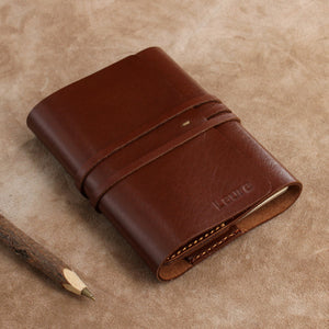 Vintage Wrap Refillable Leather Journal