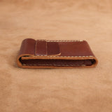 Leather Card Organiser Case
