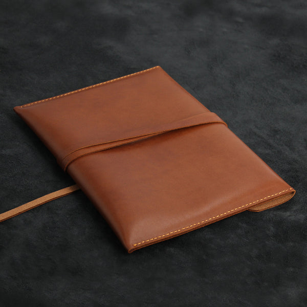 iPad Envelope Wrap Style Leather Clutch