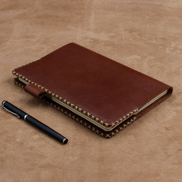 Refillable Hand Stitched Leather Journal