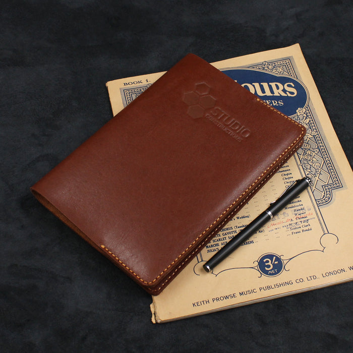 A5 Simple Designed Refillable Leather Journal