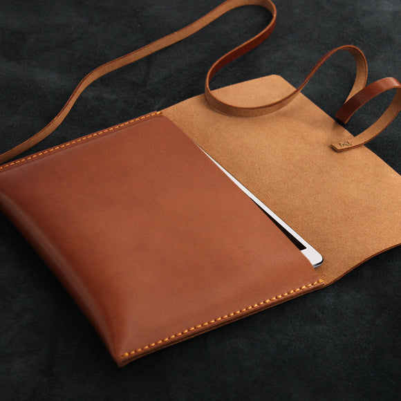 Leather iPad Protective Sleeve