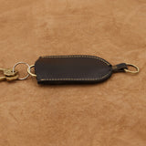 Leather Key Holder with Ring