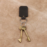 Leather Gift Personalised Key Fob