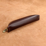 Leather Plain Pencil Case