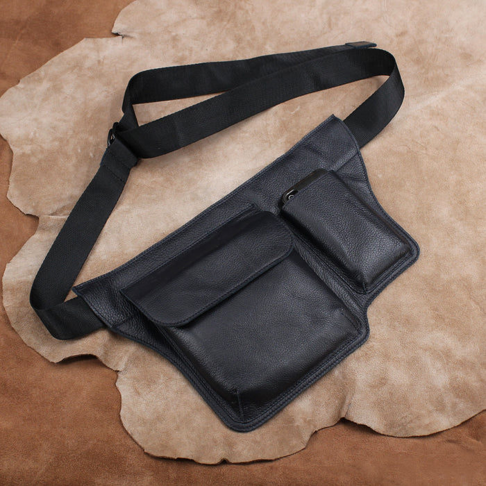Leather Waist Bag, Fanny Pack