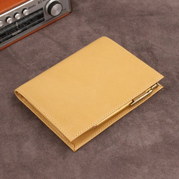 Refillable Minimalist Leather Journal