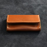 Leather Mini Card Wallet