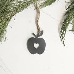 Apple Heart Ornament