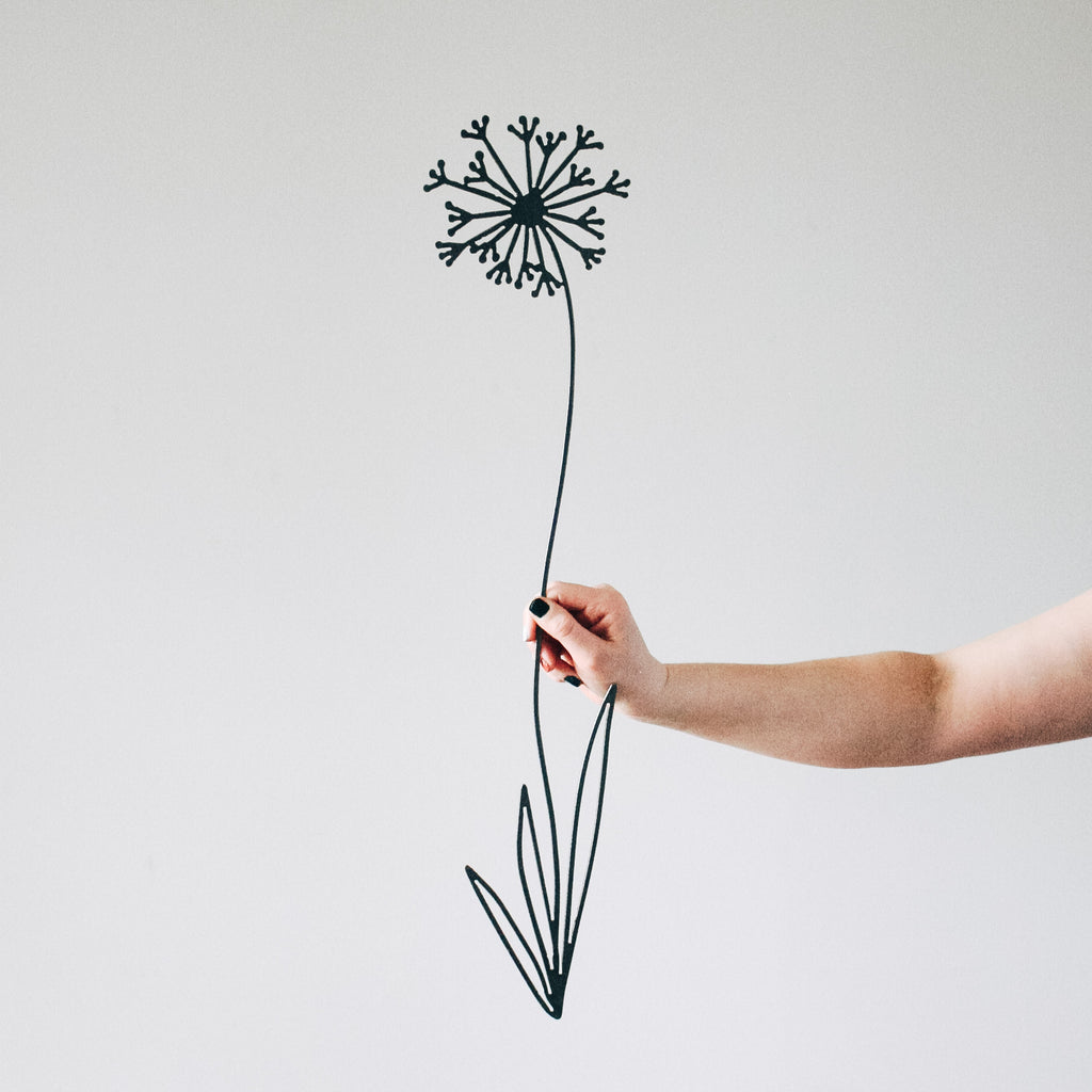 Dandelion Flower Wall Decor