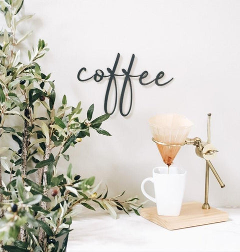 Coffee Script Wall Decor