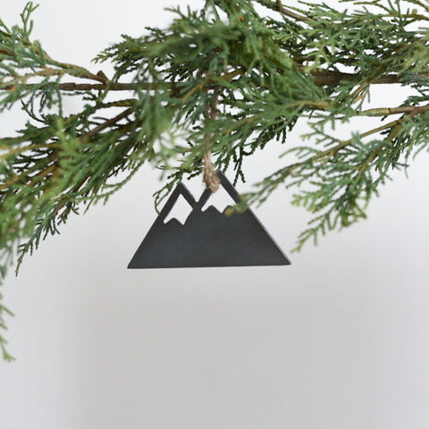 Mountain Range Ornament