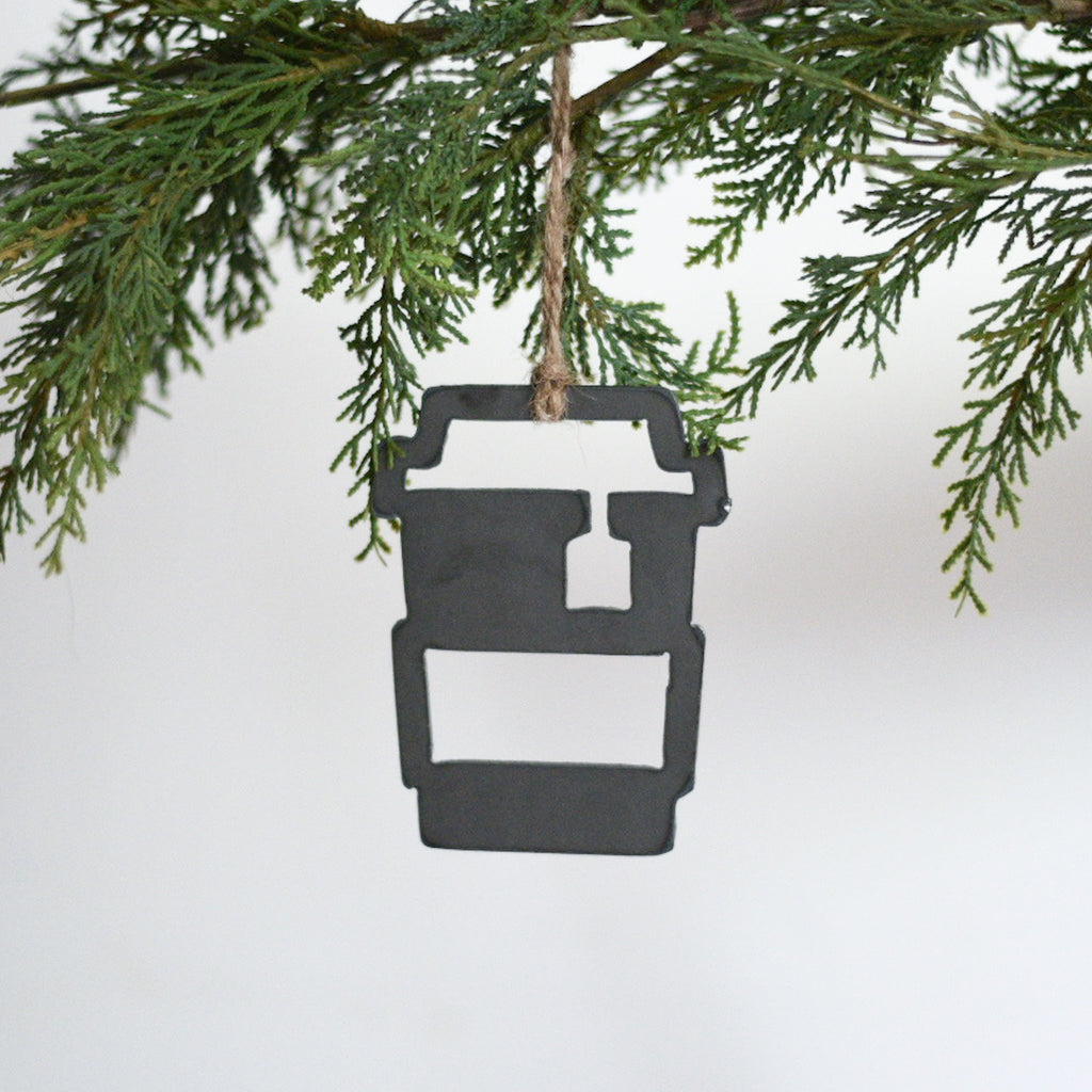 Travel Tea Cup Ornament