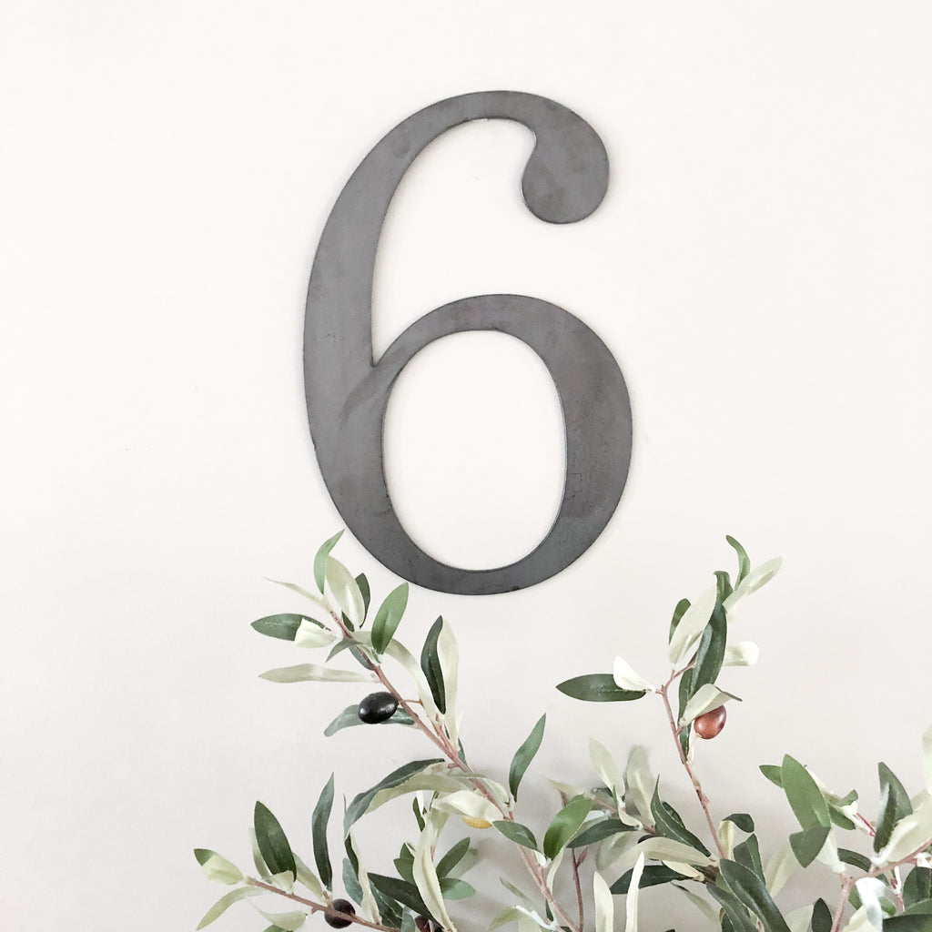 Enneagram 6 Wall Decor