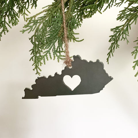 Kentucky Heart Ornament