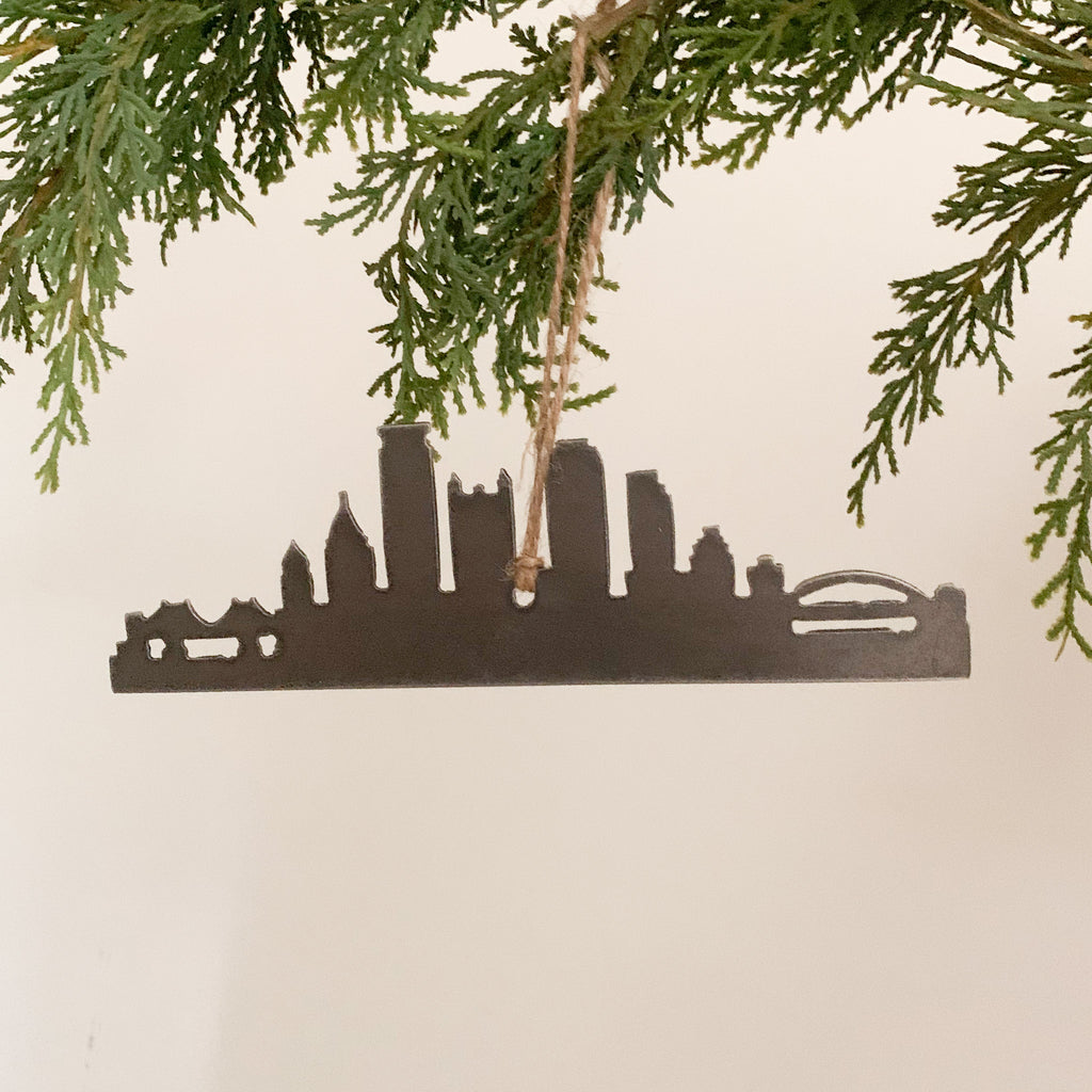 Pittsburgh Skyline Ornament