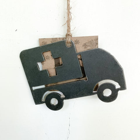 Ambulance Ornament