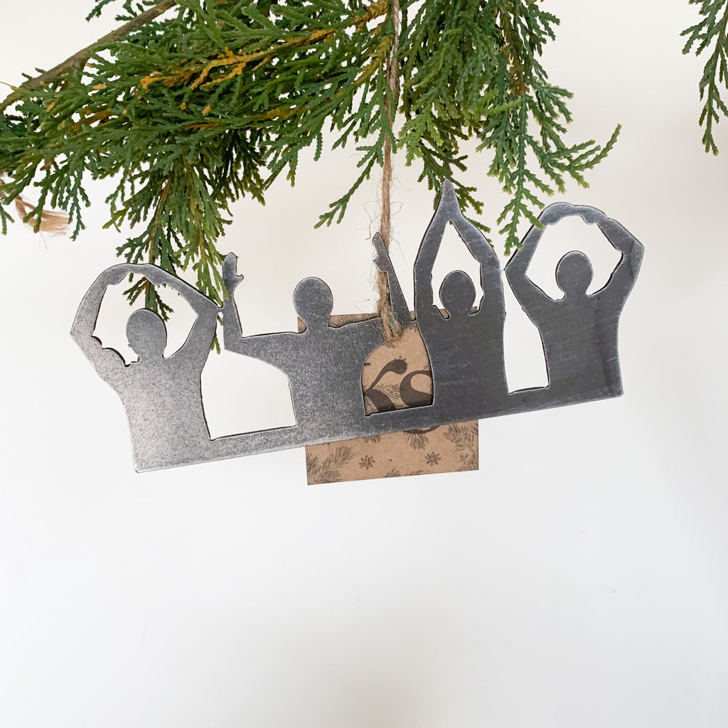 O-H-I-O Ohio Ornament