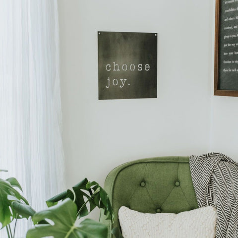Choose Joy Wall Decor