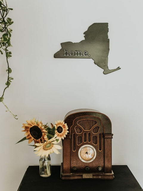 New York Home. Sign