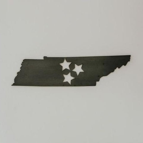 Tennessee Tri Star Wall Decor
